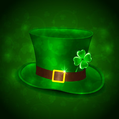 Green leprechauns hat