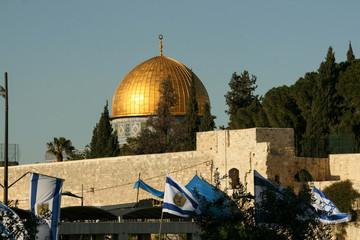 Gold Dome in Jerusalem