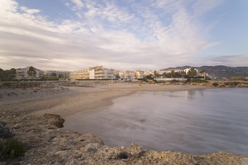 Playas de Alcocebre (Castellon - España).
