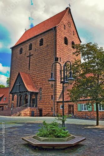 canvas print picture Johanneskirche