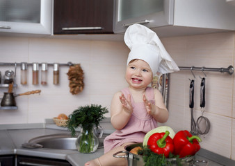 Little Chef is happy