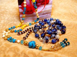 Gift for women - beads.