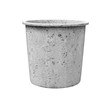 Leinwanddruck Bild - pail for about cement work on white background