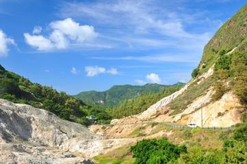 Saint Lucia volcano