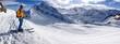 Zdjęcia na płótnie, fototapety, obrazy : Skifahrer