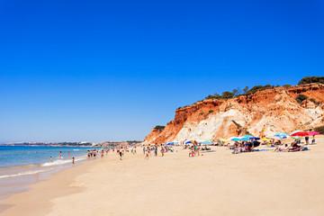 Falesia beach
