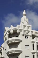 Art Deco building in Montevideo