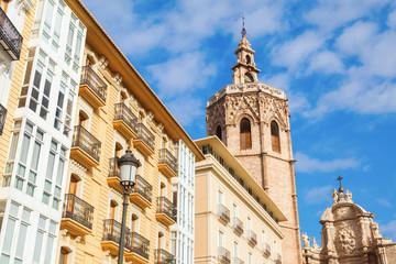 Miguelete Turm der Kathedrale von Valencia, Spanien