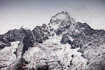 Thamserku mountain, Nepal