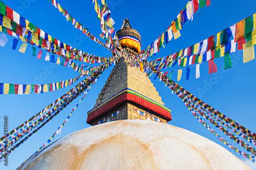 Foto op Canvas Mediterraans Europa Boudhanath stupa, Kathmandu