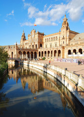 Plaza de España, Sevilla, Andalucía