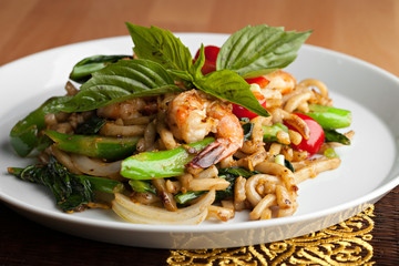 Thai Shrimp Stir Fry