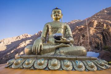 Buddha statue at Hemis Monastery