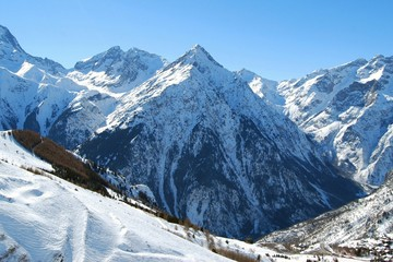 Mountain in the Alps, France