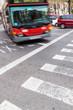 Straßenverkehr mit Bus - 78512694