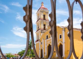 Saint John Baptist Catholic Church in Remedios,Cuba
