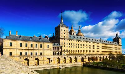Escorial.   Royal Palace