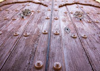 Colonial Vintage Door in Cuban Church