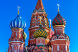 Fototapeta Cupola of the St Basil Cathedral, Moscow, Russia