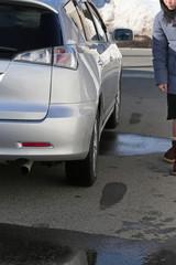車の修理の確認