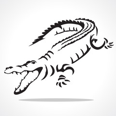 crocodile graphic