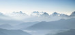 Panorama of high mountains in Himalaya - 78515296