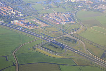 Road interchange in Amsterdam.