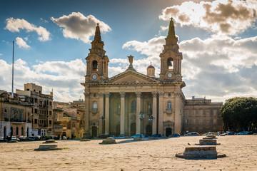 Église à La Valette, Malte