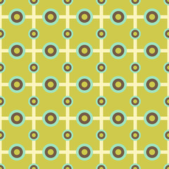 Abstract tiny circle grid seamless pattern background
