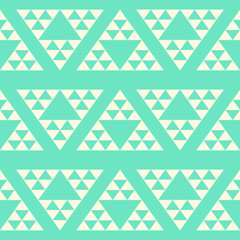 Big triangle abstract seamless pattern, geometrical  background,