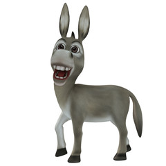 Donkey head right