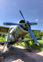 The Antonov An-2 a Soviet mass-produced single-engine biplane at