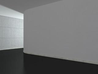 Stanza muro tondo