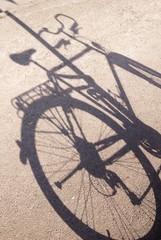Schatten Fahrrad