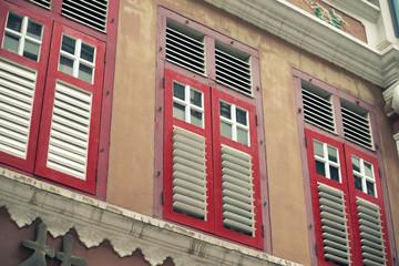 Chinatown windows