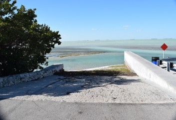Boat Ramp in Florida Keys