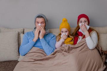 familie krank