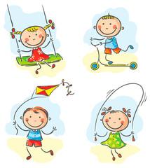 Kids outdoor games and activities