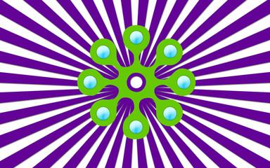 fond rayure violet