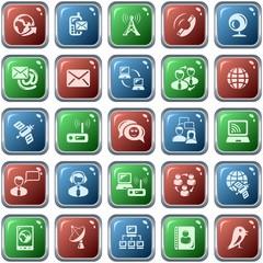 Communication button set