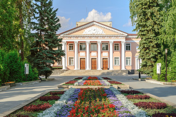 "The theatre of drama and comedy ""Our House"" in Ozersk, Russia"
