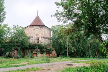 Pinnacle on  territory of Demidov's manor in Kishtim