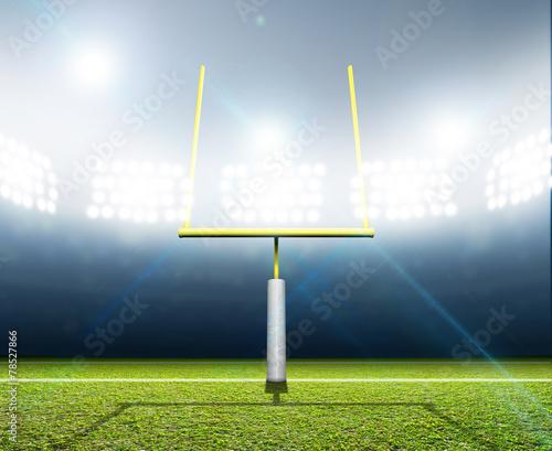 Football Stadium Night - 78527866