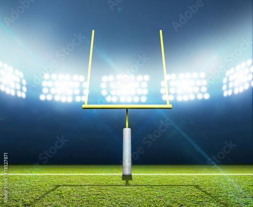 Football Stadium Night - 78527871