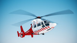 Fototapeta Rescue helicopter