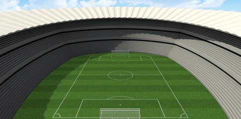 Soccer Stadium Day