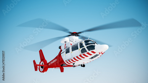 Rescue helicopter - 78528857