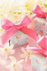 ヒヤシンスとプレゼント
