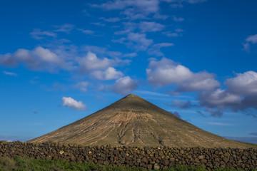 Mountain view  La Oliva Fuerteventura  Canary Islands Spain