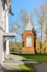 Chapel on the territory of  Zverin monastery